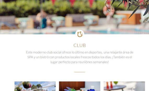 El Club de Tenis diseño web
