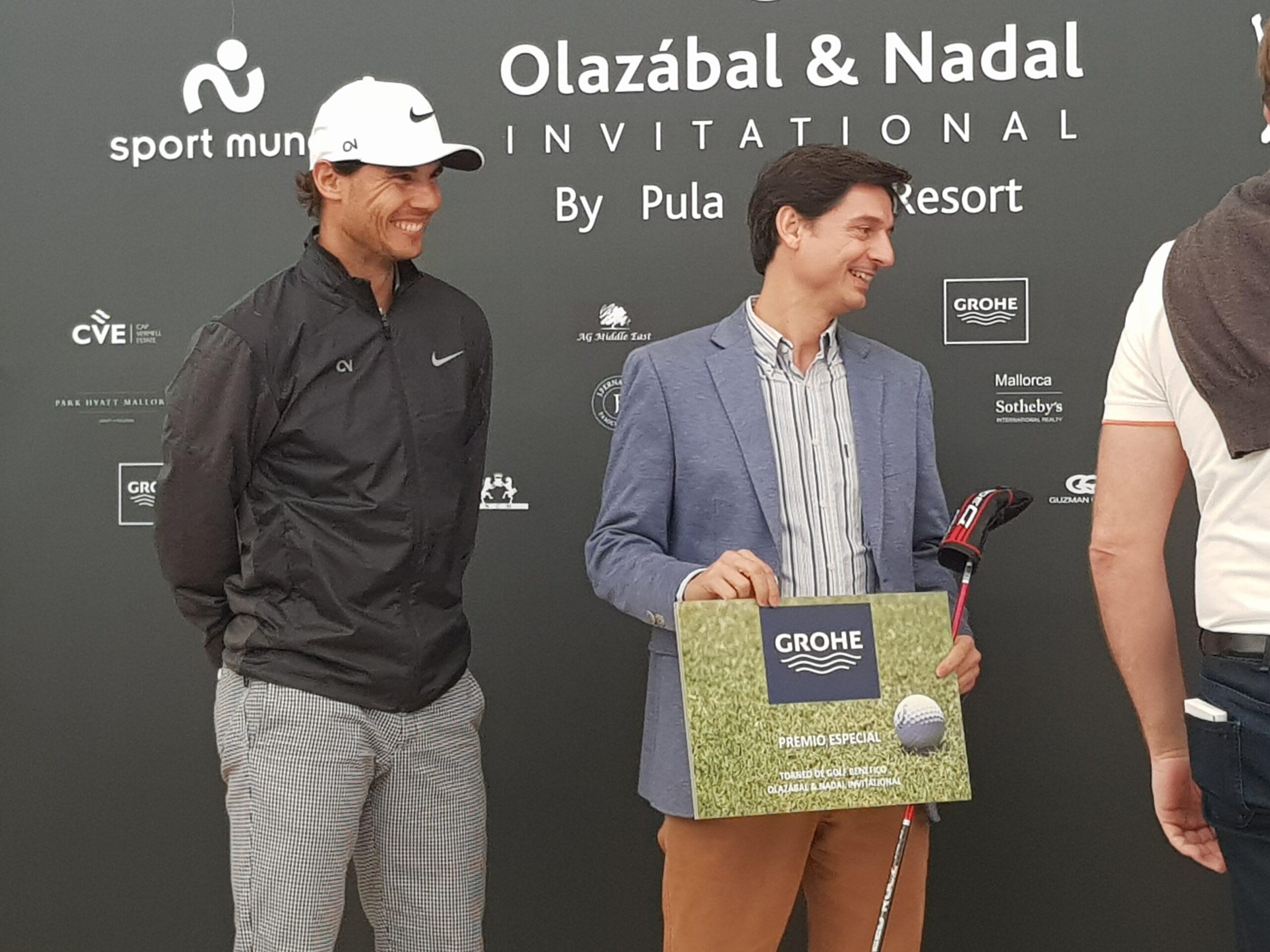 Grohe Sponsorship Rafa Nadal